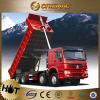 3 axes dubai used dump trucks sale , HOWO 25 Ton Dump Truck with 336hp Engine drive type 6x4