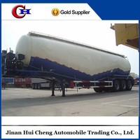 Low Density Powder/Bulk Cement Tank with Semi Trailers