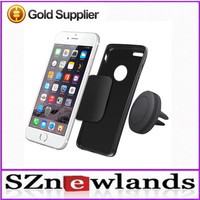 Mini Strong Clip Air Vent Rotating Portable Magnetic Car Phone Holder For All Smart Phone