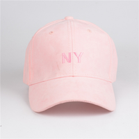 NEW YORK city hat and cap suede baseball cap