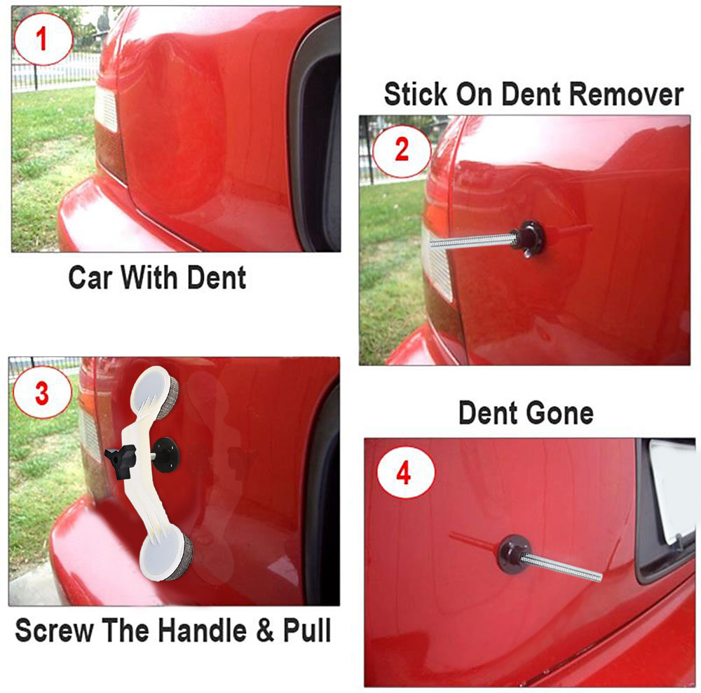 Glue Gun Car Dent Ding Body Cover Damage Removal DIY Hand Tool Car Door Vehicle Auto Automobile Fix Bridge Repair Device