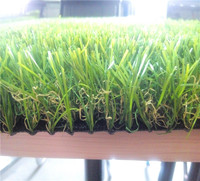 Landscaping use four color artificial grass