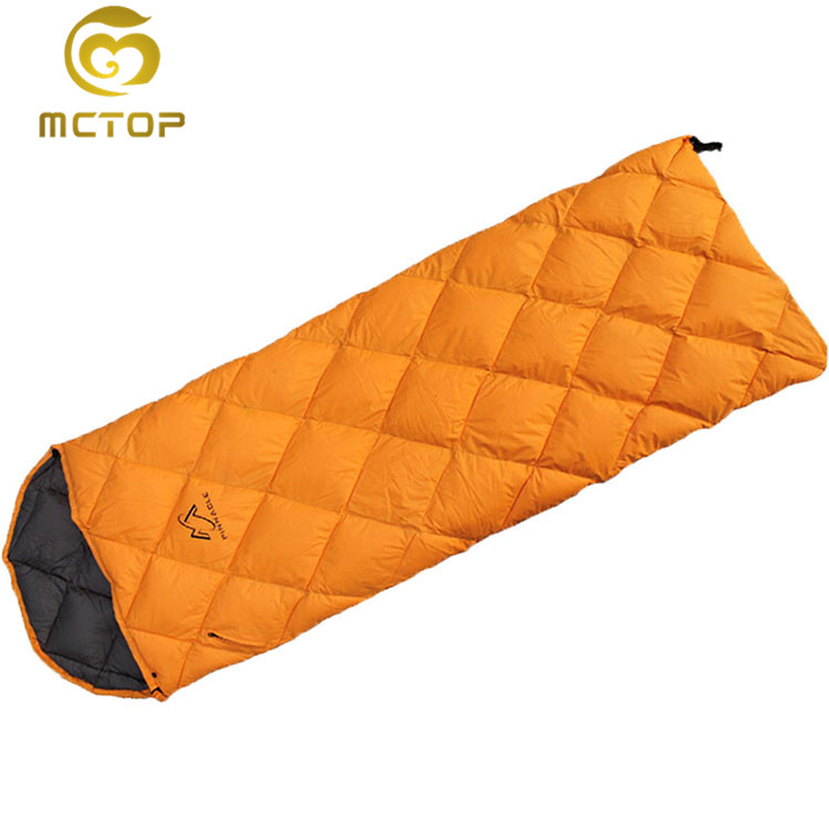 High quality durable using 2 3 season best down sleeping bag wholesale price
