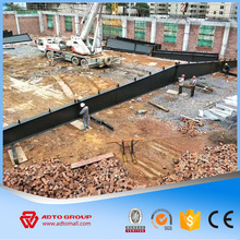 Large Span Prefabricated Steel Shed Structural Steel Warehouse Rigid Frame Fabrication