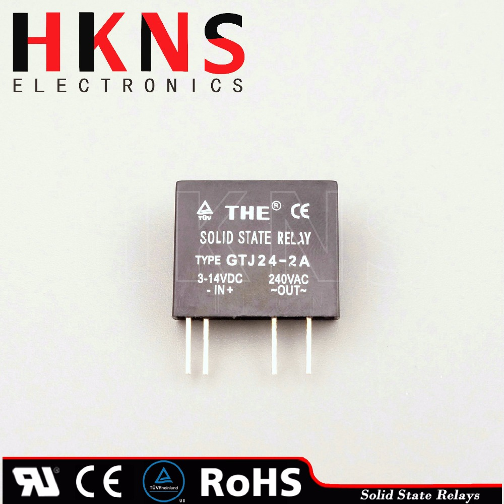 Miniature solid state relay ssr dc to ac 2A (PCB type) crydom SSR UL TUV ROHS THE