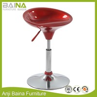 Barber restraurant plastic small stool chair