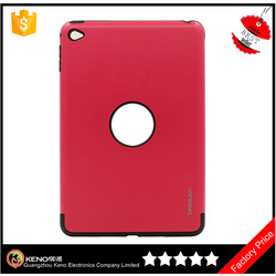 High quality phone case for ipad mini 4 premium 2 in 1 TPU PC combo case