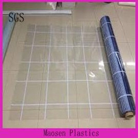 super clear soft pvc film in roll