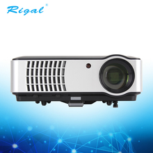 2018 Hotsale office home theater 1080p 3D HD led hdmi cheap video projector