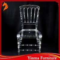 Low price transparency monoblock resin chiavari chair