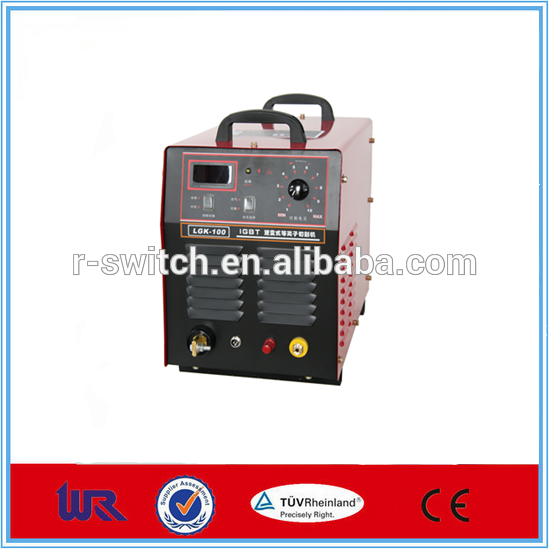 2017 China factory price 220v High Frequency lgk 100 air plasma cutter