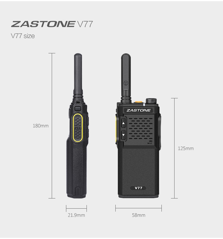 Cheap 3W Handheld UHF Mini Walkie Talkie