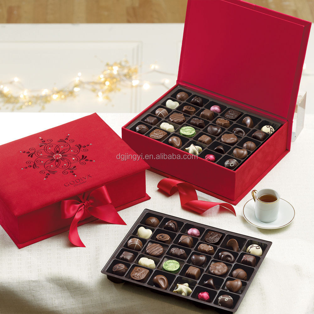 Gift Box Of Chocolates : Wedding paper chocolate box packaging gift
