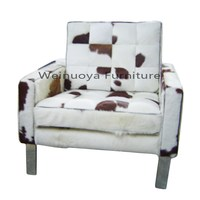 Top Quality Barcelona Chair Modern design Horse Hair sofa