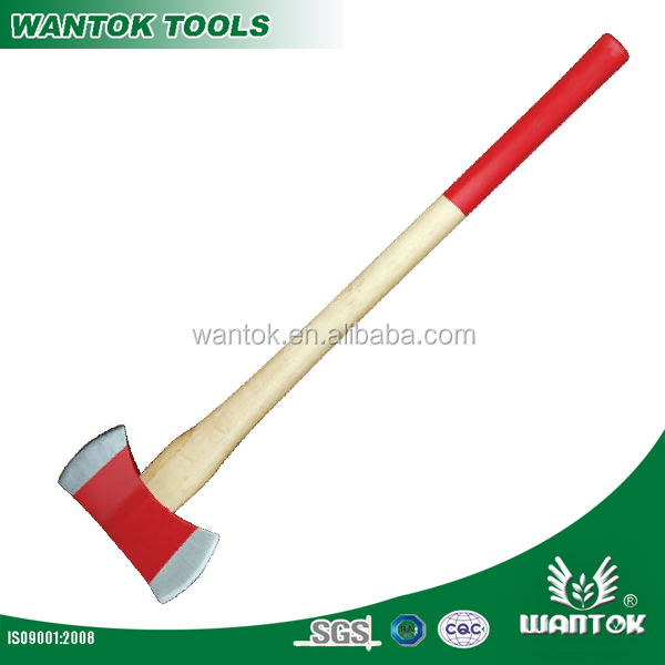 A620HP double bit axe with wooden handle