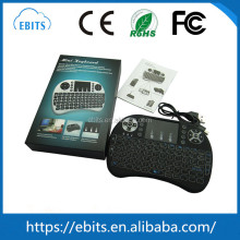i8 2.4G Mini Wireless Qwerty Touchpad Keyboard and Mouse for smart TV box