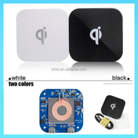 2015 two usb ports Universal Wireless Charging Transmitter Qi Wireless Charger pad
