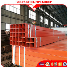 Chinese supplier YF Group High quality manufacturer steel price per kg Iron square pipe rectangular tube for oil gas pipeline