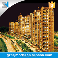 Good residential architectural scale building model, Construction house modelling service