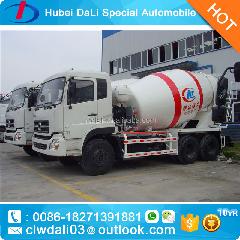 10 cbm euro 3 well cementing truck/brand cement mixer/trailer mounted concrete mixer for sale