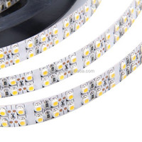 hot sales led strip lamp double lines 240leds/m 19.2w/m DC12V 5m/roll flexible 3528 led light