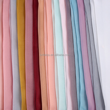 China New Fashion dress fashion poly woven plain polyester organza fabric dye