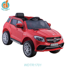 WDTR1701 Newest Design Mercedes Electric Model Fast Remote Control Baby Car
