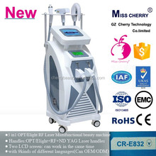 beauty care tools and equipment ipl shr elight rf hair removal machine