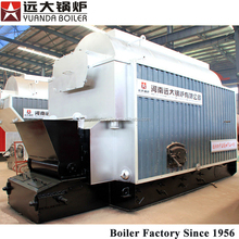 Environmental peanut shell fired steam boiler