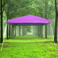 folding with curtains china hot sale manual assembly tent metal gazebo steel roof