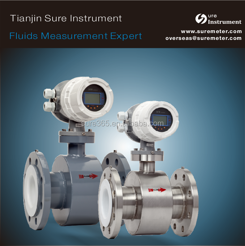 Waste water/chemical fluids/slurry/Acid Flow Meter