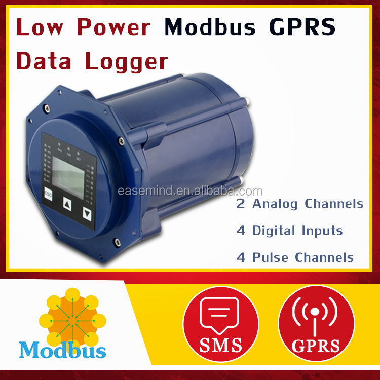 Low Power Modbus GPRS IP68 Data Logger with UDP / TCP protocol