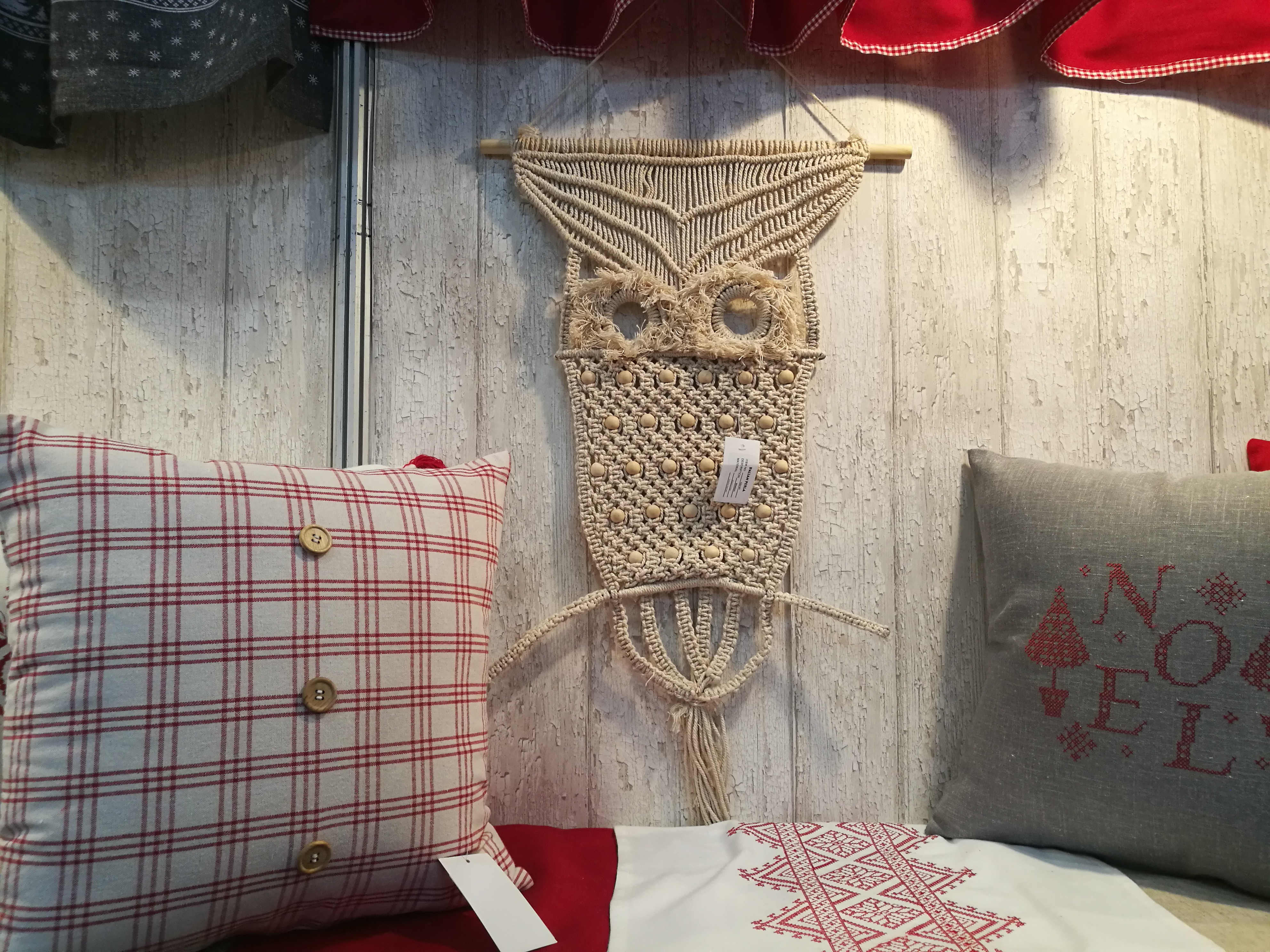 Home Decoration Handmade Animal Owl Macrame <strong>Wall</strong> Hanging