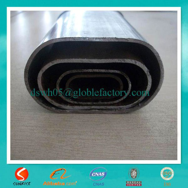 scaffold material and steel oval tube from China supplier