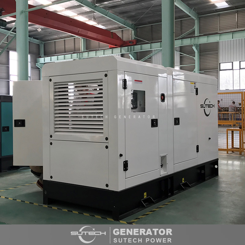 Soundproof super silent 150kva diesel generator powered by UK engine 1106A-70TAG2