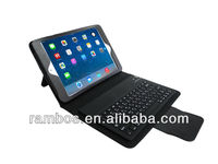 Tablet PC Leather Cover Case Wireless Bluetooth Keyboard with Stand for iPad Mini 2