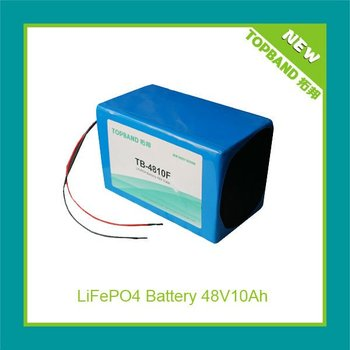 Hot seller electric motor starting lithium battery 48V10Ah TB-4810F