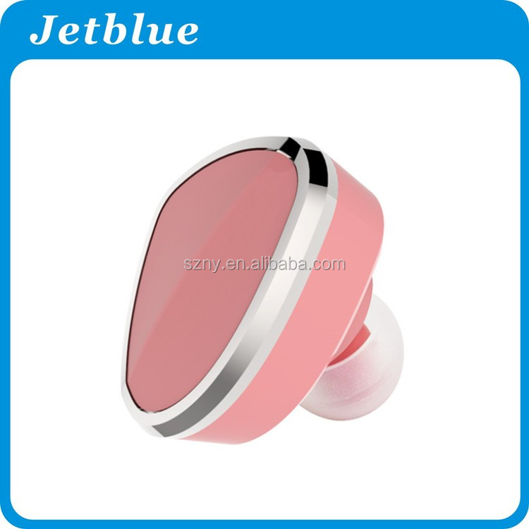 wireless colorful easy wearing small bluetooth earphone