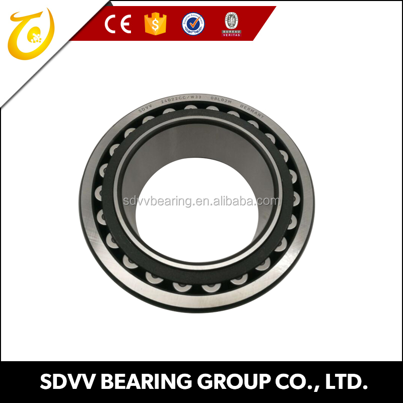 China Manufacture SDVV Spherical roller bearings 24022 CC/W33 110x170x60mm