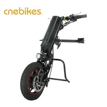 CNEBIKES 12inch in wheel geared motor attachment handcycle for wheelchair