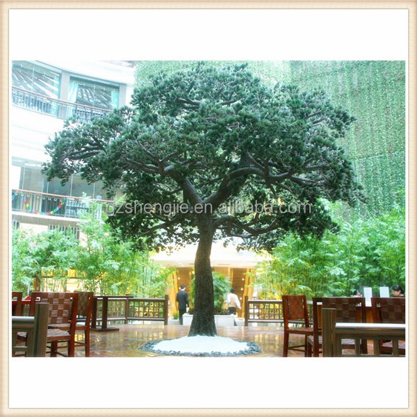 China regional feature large outdoor decoration artificial pine tree
