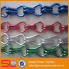 Decorative metal chain door curtain