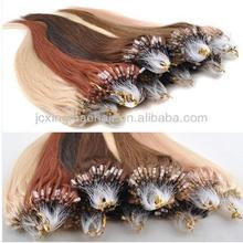 Hot Sale Remy Micro Ring Loop Hair ,micro fiber hair extensions