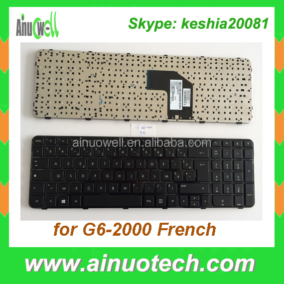 laptop keyboard for hp g6 laptop layout G6-1000 G6-2000