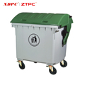 HDPE HOT! Reusable trash cans plastic ourtdoor dustbin with wheels 5L to 1200L