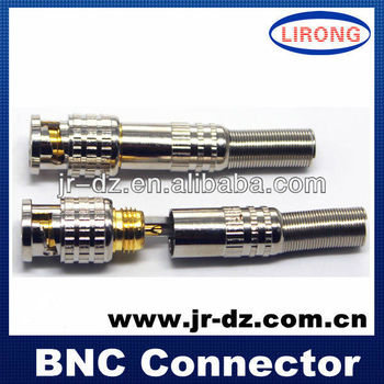 BNC Male Solder Connector without screw