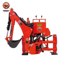 New design ce 3 point hitch hydraulic small garden farm tractor towable backhoe sale for wholesales