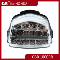 For Honda CBR 1000RR NestCell clear lens motorcycle led tail lights