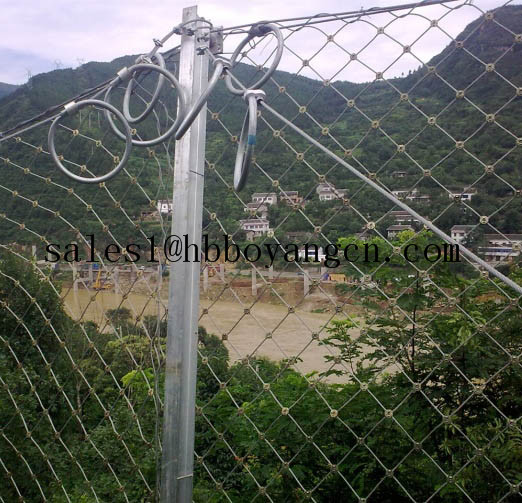 Slope Protection Wire Mesh For Preventing Of Rock Breaking Wire Mesh Fence For Boundary