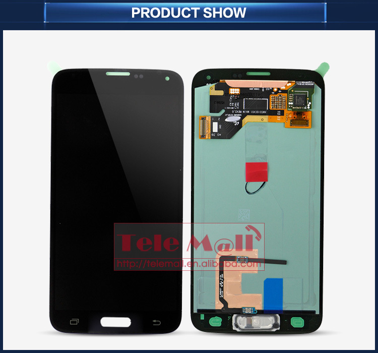 Alibaba china mobile phone 100% original replacement lcd for samsung galaxy s5 lcd digitizer assembly unlock